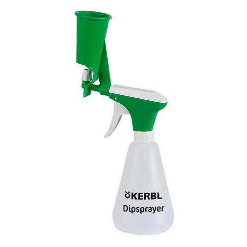 Дезинфекционный опрыскиватель со стаканчиком для соска kerbl