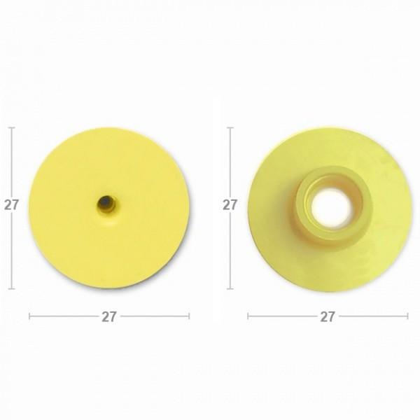 Бирка ушная CAISLEY MF R/R d27 открытая крышка
