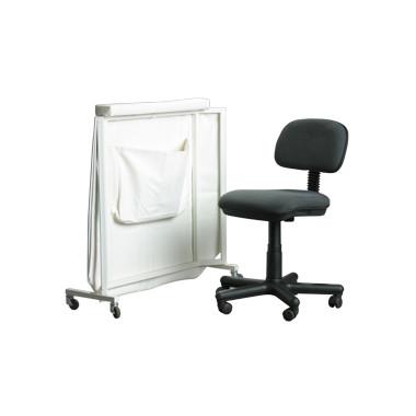 Ширма малая для врача (с креслом)