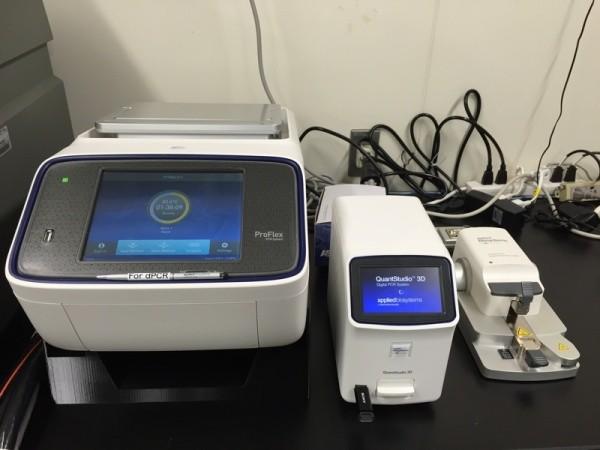 Амплификатор с термоблоком для чипов ProFlex 2 x Flat PCR System