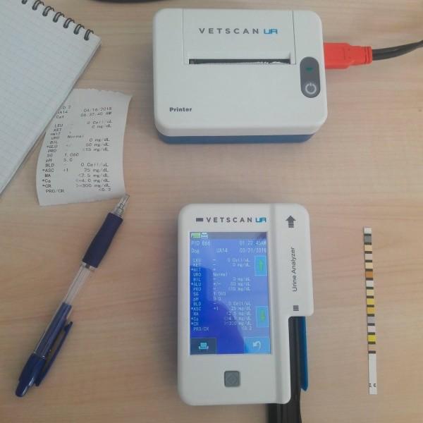 Ветеринарный портативный экспресс анализатор мочи Abaxis VetScan UA
