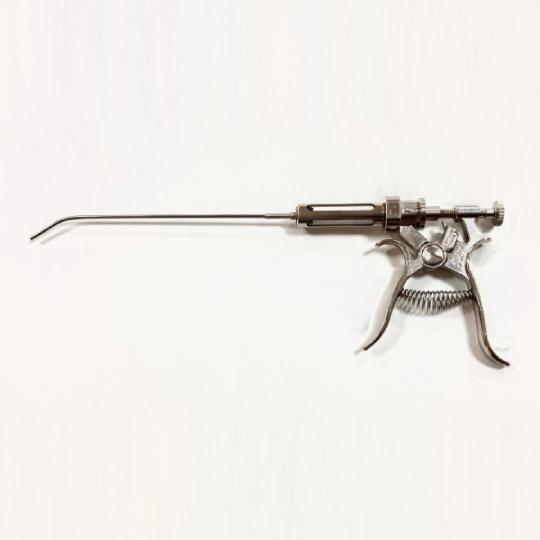 Пистолет для искусственного осеменения кроликов с дозатором 0.25-1 мл