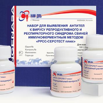 Набор для выявления антител к вирусу репродуктивного и респираторного синдрома свиней