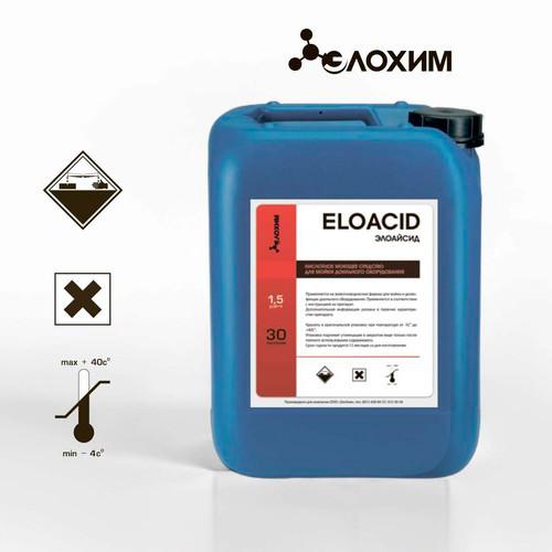 ELOACID Кислотное моющее средство для мойки доильного оборудования