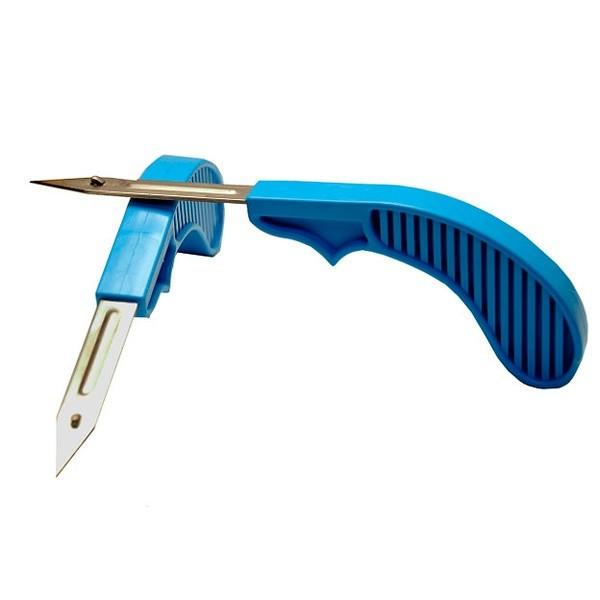 Нож-аппликатор для установки одинарных ушных бирок для КРС